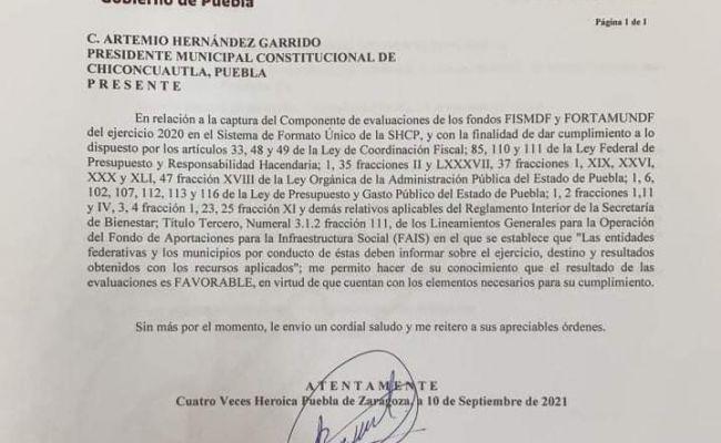 Califica la secretaría del bienestar de manera favorable el ejercicio 2020 en la administración de Artemio Hernández Garrido