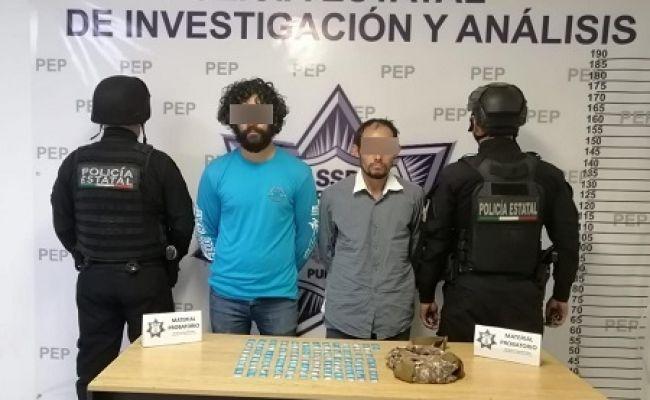 """Captura Policía Estatal a """"El Lobo"""", presunto narcomenudista"""