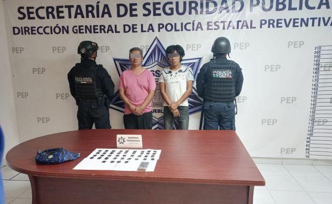"""Captura Policía Estatal a dos narcovendedores más de """"La Tita"""""""