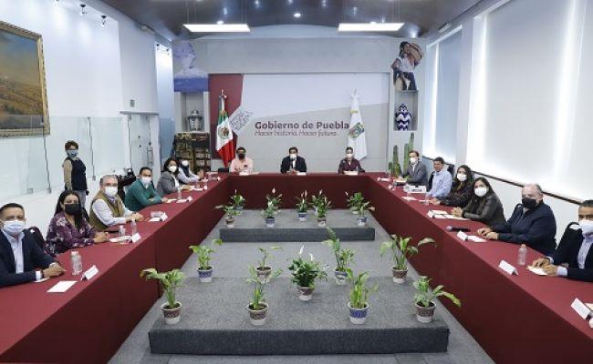 Alcaldes electos del estado se reunen con MBH para reforzar seguridad