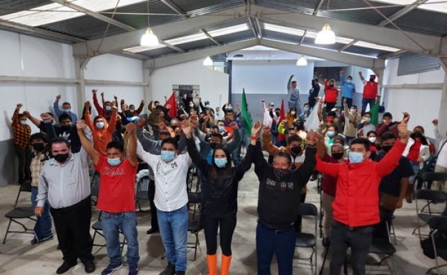 Formaliza Juan de la Madrid compromiso de campaña conAsociación de Tablajeros de Huauchinango
