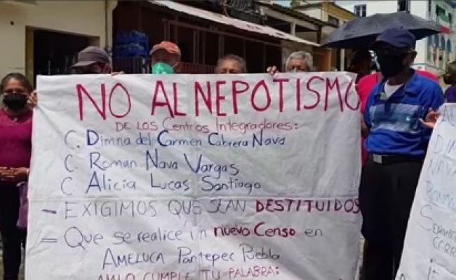 Denuncian favoritismo en censo para apoyo a afectados por huracán Grace en Pantepec