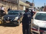 Detienen SMT y SSP a taxi irregular mediante operativos sobre Periférico Ecológico