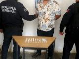 """Asegura la PM a """"El Chucho"""" presunto responsable de robo a comercios y a casa habitación en Huauchinango"""