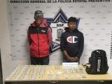 """Detenidos por la Policía Estatal dos presuntos integrantes de la banda """"Los Oropeza"""""""